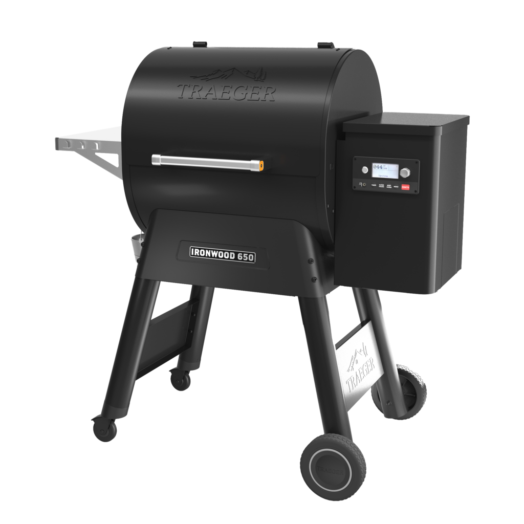 Simply Decks & Stuff - Deckman BBQ | Traeger Ironwood 650 Full View